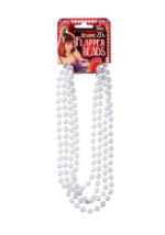 Faux Pearl Flapper Beads