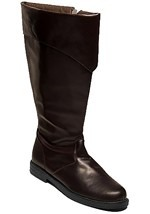 Pirate Tall Brown Boots