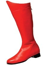 Red Adult Superhero Boots