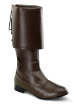 Brown Pirate Costume Boots