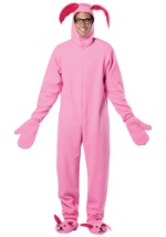 Pink Christmas Story Bunny Suit
