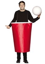 Beer Pong Cup Party Costume