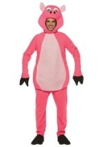 Pink Adult Pig Costume