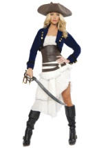 Ladies Deluxe Colonial Pirate Costume
