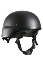 Military Black Tactical Helmet
