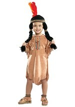 Toddler Indian Doll Costume