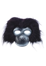 Plush Gorilla Face Mask