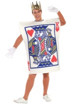 Male King of Hearts Card Costume