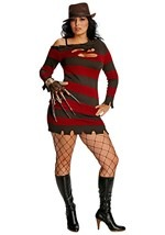 Plus Size Killer Krueger Costume