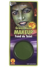 Green Witch Face Makeup