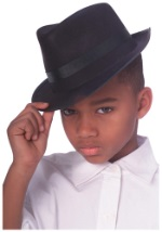 Kids Gangster Fedora Hat