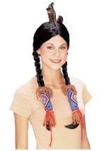 Womens American Indian Wig