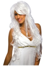 Silver and White Chic Wig