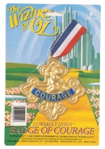 Cowardly Lion Courage Medallion