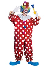 Dotted Circus Clown Costume