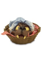 Wolf Head Basket Accessory