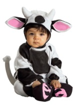 Baby Cuddly Cow Costume