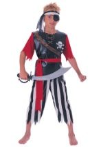 Pirate King Boys' Costume