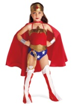 Kids Wonder Woman Superhero Costume
