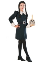 Wednesday Addams Girls Dress