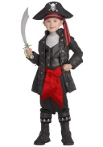 Child Captain Black Pirate Costume