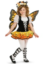 Toddler Girls Monarch Butterfly Costume