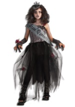 Girls Ghoulish Prom Queen Costume