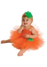 Tutu Pumpkin Infant Dress
