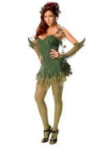 Womens Poison Ivy Villain Costume