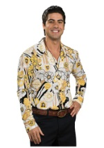 Paisley Yellow Shirt