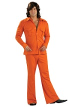 Orange Disco Leisure Suit