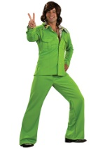 Adult Groovy Green Leisure Suit